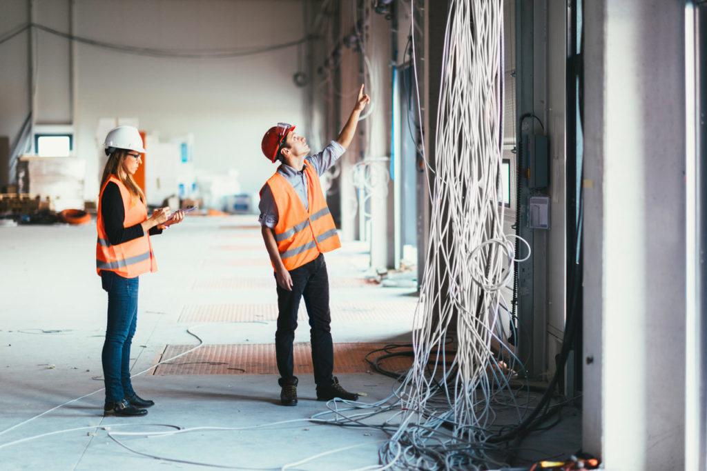 Sprawdzanie budynku pod kątem technicznym